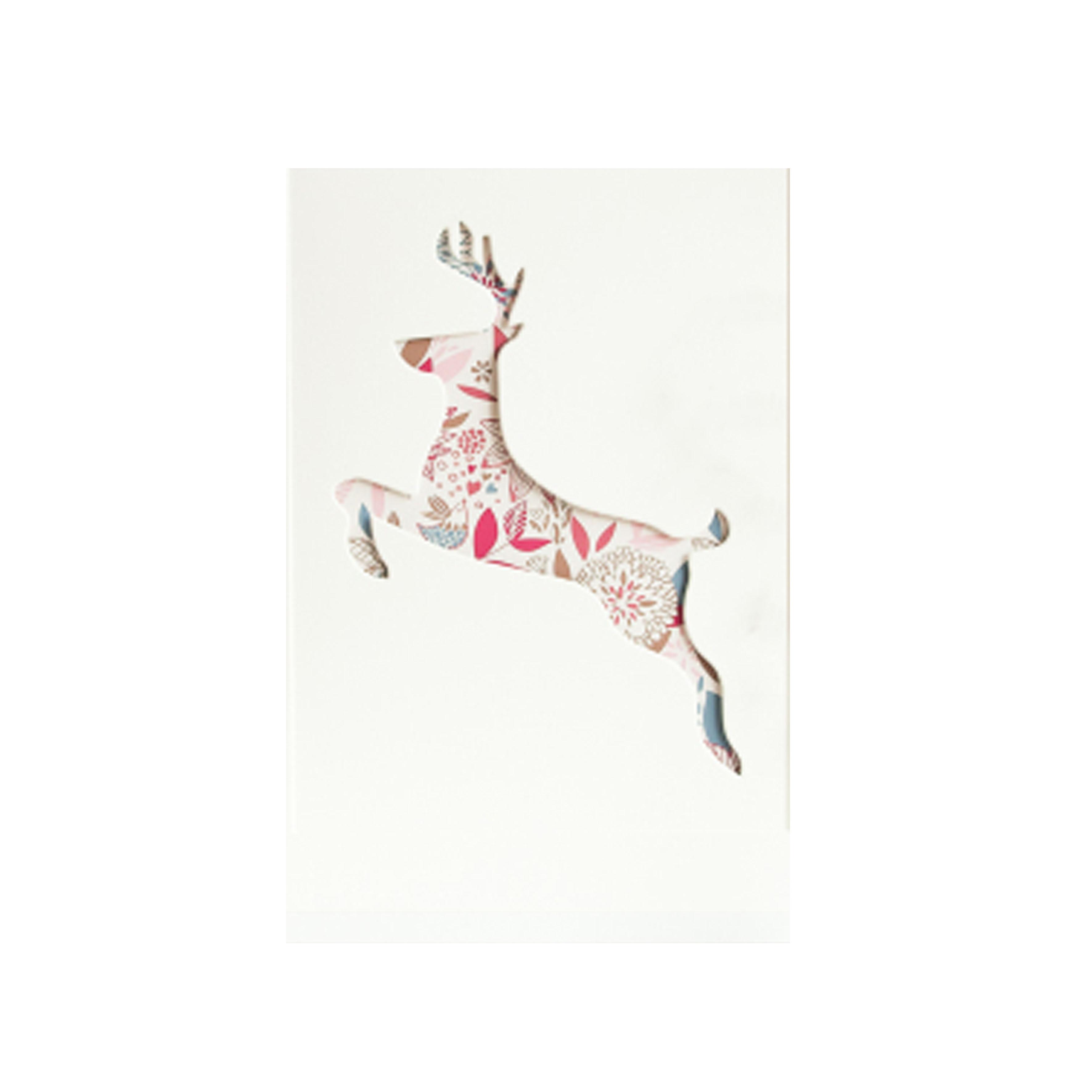 奔跑的鹿装饰画