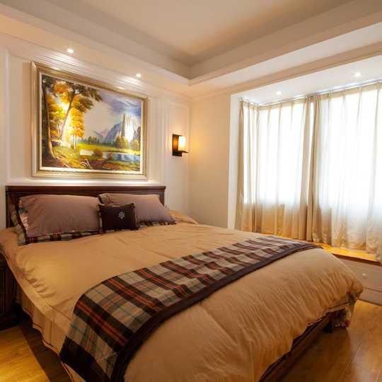 美式卧室床头led灯带
