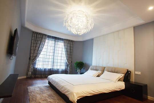 背景墙 房间 家居 酒店 设计 卧室 卧室装修 现代 装修 540_360