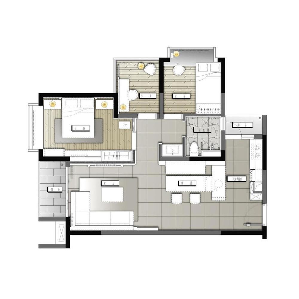 家庭  黑白图标  素材