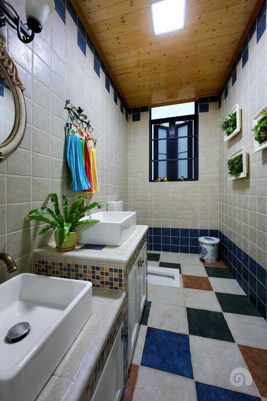 成人与儿童使用的洗手台